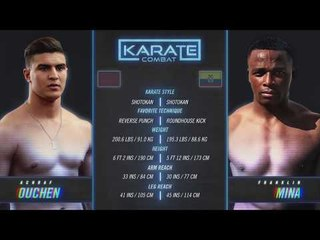 FULL FIGHT Karate Combat: Olympus - Achraf Ouchen vs Franklin Mina