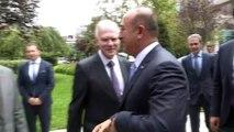 Dışişleri Bakanı Mevlüt Çavuşoğlu, Dışişleri Bakanlığı AB Başkanlığı personelini ziyaret etti