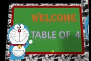 Tables for kids | Maths tables | Table of 4