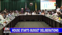 NEWS: House starts budget deliberations