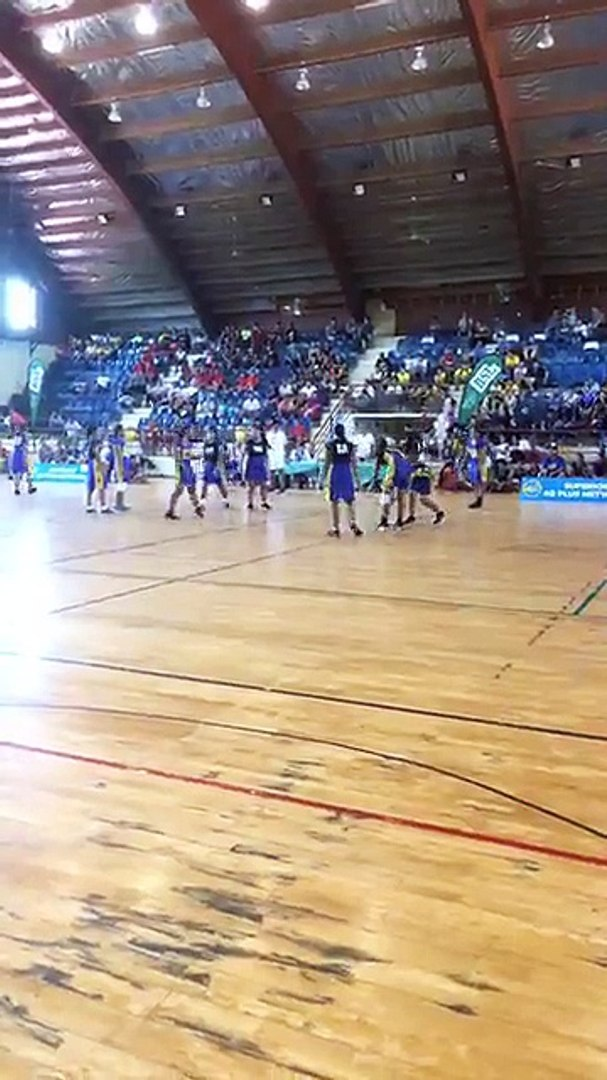 Netball Secondary Schools Champ of Champs is on! Vaiola Savaii vs Pesega Upolu. May the best team wi