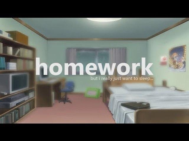 homework. [lofi / jazzhop / study mix]