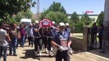 Elazığ Polis Merkezinde Sivil Memurun Şehit Ettiği Polis, Son Yolculuğuna Uğurlandı