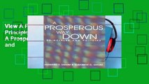 View A Prosperous Way Down: Principles and Policies Ebook A Prosperous Way Down: Principles and