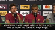 """Barcelone - Sergi Roberto: """"Luis Enrique a été très important dans ma progression"""""""