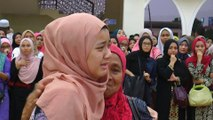 Loved ones pay last respect to Lombok earthquake victim