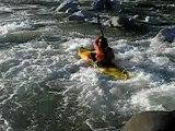 Kayak Chute sur le Fier (Annecy Haute-Savoie)
