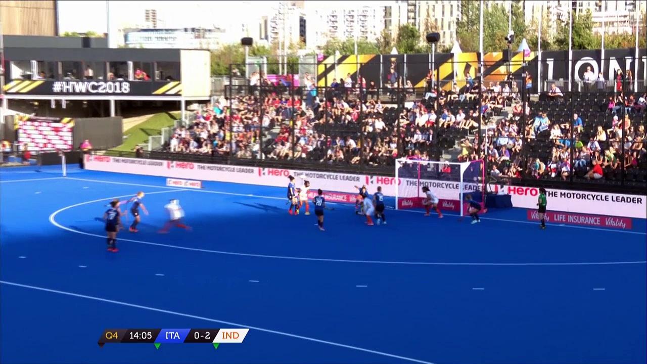 Italy v India   Women's Hockey World Cup   Highlights