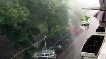 Pluie apocalyptique ! Ce débit d'eau est phénoménal !