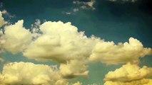 Wolken am blauen Himmel (Zeitraffer) - clouds blue sky (time laps) 2