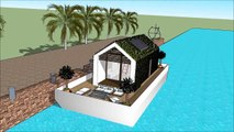 Sims freeplay best house ever sims 6 in real life sims house mansion 007 Yacht Houseboat Floating lu