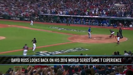 David Ross Reflects on Game 7 of the 2016 World Series