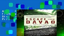 About For Books  Escape from Davao: The Forgotten Story of the Most Daring Prison Break of the