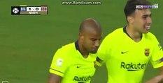 Rafinha Goal HD - Barcelona 1-0 AS Roma 01.08.2018
