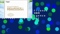 New Releases Influence and Persuasion (HBR Emotional Intelligence Series)  Any Format
