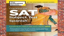 New Releases Cracking the Sat Spanish Subject Test (College Test Prep)  Unlimited