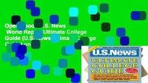 Open Ebook U.S. News   World Report Ultimate College Guide (U.S. News Ultimate College Guide) online