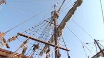 Le bateau de Christophe Colomb est au port