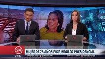 Otorgan indulto presidencial a mujer que mató a hachazos a su marido tras una vida de maltrato