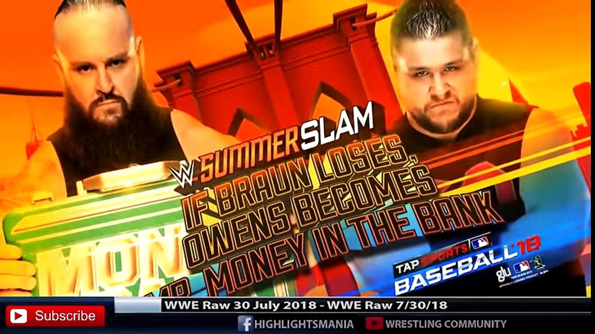 WWE Raw 30 July 20 WWE Raw 30 July 2018 Highlights HD - wwe raw 7_30_18 highlights 18 Highlights HD