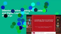 D0wnload Online Leading Personalized and Digital Learning free of charge