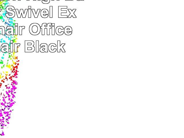 Mecor Modern High Back Leather Swivel Executive Chair Office Desk Chair Black