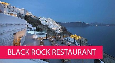 BLACK ROCK RESTAURANT - GREECE, OIA