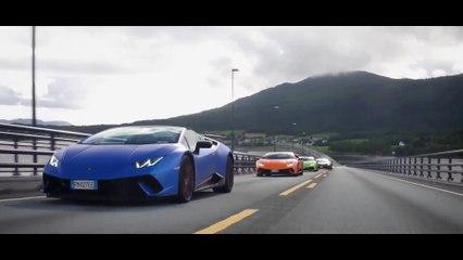 Lamborghini Avventura 2018 - una spedizione di supersportive attraverso i fiordi della Norvegia