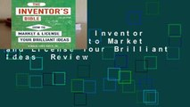 New Releases Inventor s Bible: How to Market and License Your Brilliant Ideas  Review