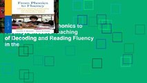 Open Ebook From Phonics to Fluency: Effective Teaching of Decoding and Reading Fluency in the