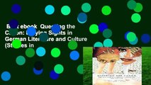 Best ebook  Queering the Canon: Defying Sights in German Literature and Culture (Studies in