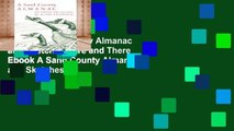 View A Sand County Almanac and Sketches Here and There Ebook A Sand County Almanac and Sketches