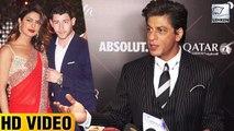 Shah Rukh Khan Makes Fun Of Priyanka Chopra's Marriage