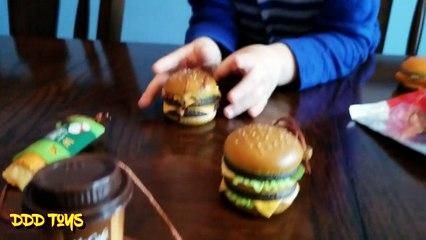 Japanese McDonald's Food Strap Toys