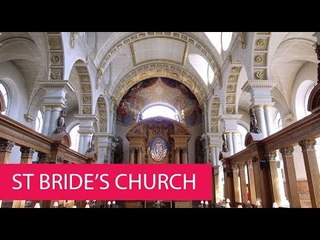 ST BRIDE'S CHURCH - UNITED KINGDOM, LONDON