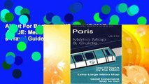 About For Books  PARIS METRO MAP   GUIDE: Metro Map and Guide (Michael Brein s Travel Guides to