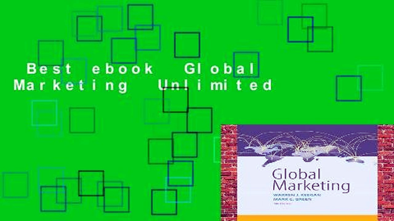 Best ebook  Global Marketing  Unlimited