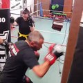 Krav Maga Street Defense Paris  entrainement de Cardio boxing 1/2