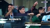 La RÉACTION INSOLENTE de Maradona au match Argentine vs Nigeria 2-1
