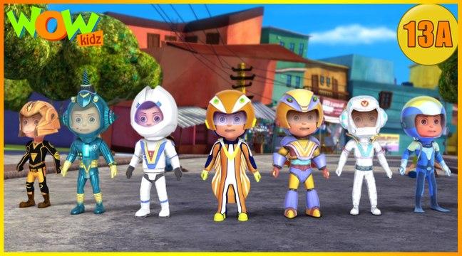 Vir The Robot Boy   Vir vs Dangerous Seven - 1     Action Cartoon for Kids   Wow Kidz