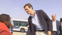 Pablo Casado de visita en Algeciras