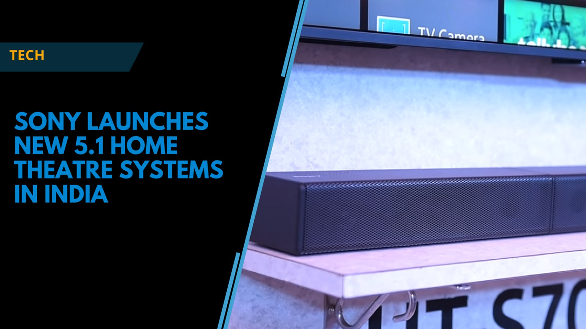 Sony launches new 5.1 home theatre systems in India