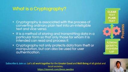 Basics of Cryptography