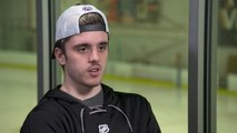 Canadian junior hockey player paralyzed in bus crash returns to ice