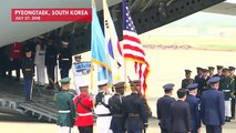 North Korea Returns Remains Of U.S. Soldiers Killed During Korean War