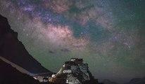 Time Lapse au Tibet : Les incroyables images du ciel étoilé tibétain