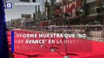 Informe muestra que 'no hay avance' en la diversidad de películas en Hollywood