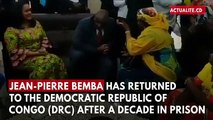Ex-Warlord Jean-Pierre Bemba Returns To Democratic Republic of Congo After Decade In Prison