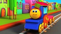 Bob entraîner animale du son chanson   Comptine   Bob Train Animal Sound Song   3D Kids Cartoon
