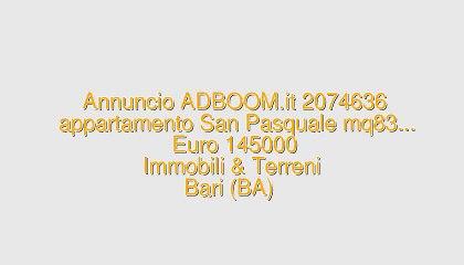 appartamento San Pasquale mq83...